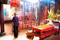 Vietnam _ The South _ The Delta of Mekong _ Can Tho _ Binh Thuy Temple