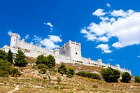 Spain _ Castile and Leon _ Province of Valladolid _ Penafiel _ Penafiel Castle