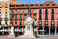 Spain _ Castile and Leon _ Valladolid _ Plaza Mayor