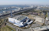 Koto Industrial Area, Aerial View, Pan Focus