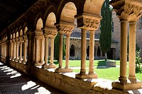 Spain _ Castile and Leon _ Soria _ Courtyard of the Cathedral of San Pedro