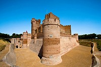 Spain _ Castile and Leon _ Province of Valladolid _ MÚdina del Campo _ Castle de la Mota