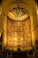 Spain _ Castile and Leon _ Salamanca _ Ancient Cathedral _ Catedral Vieja _ High altar