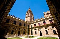 Spain _ Castile and Leon _ Salamanca _ Ancient Cathedral _ Catedral Vieja _ Courtyard
