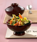 Spicy stir_fried vegetables
