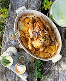 Chicken with thyme and lemon