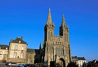 13th century cathedral, Saint-Pol-de-Léon. Finistère, Bretagne, France