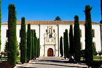 Spain _ Castile and Leon _ Burgos _ Institut of Cardinal Lopez de Mendoza