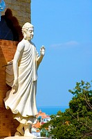 Vietnam _ The South _ Vung Tau Cape Saint Jacques _ Thich Ca Phat Dai Pagoda