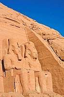 Egypt: Abu Simbel - Great Temple (thumbnail)