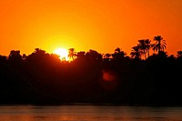 Egypt _ Kom Ombo _ sunset