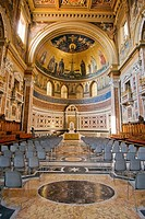 Interior of the Chapel in San Giovanni in Laterano Basilica  Rome, Lazio, Italy