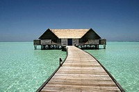 Water bungalow, Maldives