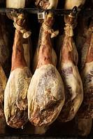 ´Pata negra´ cured Iberian ham