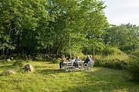 Coffeefavour in garden