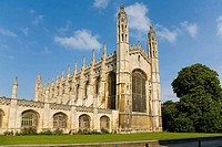 Kings College Chapel, Cambridge, England, UK