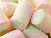 Coloured Marshmallows