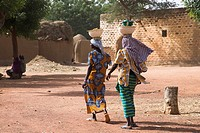 Two Women Outskirts of Djenne Mali