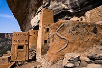 Dogon villageTeli Bandiagara Escarpment Mali