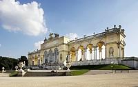 Austria, Vienna, Schoenbrunn Castle, Gloriette