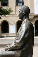 Germany, Berlin, Bertolt_Brecht monument