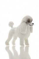 Plastic Figurine of a poodle