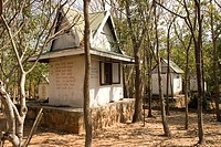 Thailand, Nakhon Ratchasima, Monk colony