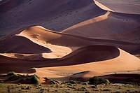 Africa, Namibia, Sossusvlei, Sand dunes