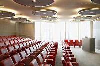 Corporate lecture hall