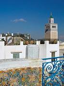 Blick über die Dächer von Tunis,Tunesien