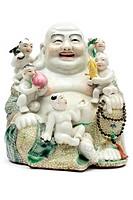 Keramikbuddha