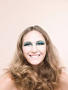 A young woman wearing false eyelashes (thumbnail)