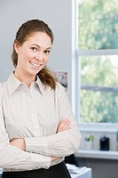 Portrait of a female office worker (thumbnail)