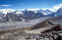 HIMALAYA, NEPAL Himalaya, Nepal. Sherpa region of Solu Khumbu, region of the Everest, located on the Himalayan Mountain Range at the east of Kathmando...