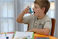 ASTHMA TREATMENT CHILD Model.