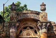 Terracotta art , old house , Vishnupur , West Bengal , India
