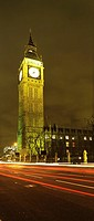 Big Ben at night, London, England