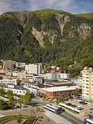 Aerial View of Juneau, Alaska