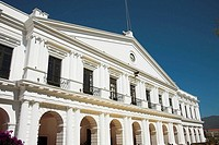 Palacio Municipal, Town Hall, Plaza 31 de Marzo, San Cristobal de las Casas, Chiapas, Mexico