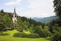 Peles Castle, Sinaia, Prahova Valley, Transylvania, Romania