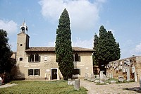 Torcello Museum, Museo Di Torcello, on the island of Torcello, Venice, Italy