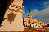 Town Hall,  Zamosc, Poland