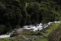 River Apuela, Imbabura Province, Ecuador