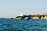 France, Aquitaine, Biarritz, lighthouse