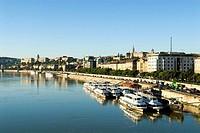 Hungary, Budapest, the Danube