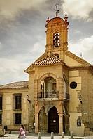 Church of Santiago, Antequera. Malaga province, Andalusia, Spain
