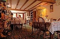 Typical English café, Biddenden, County Kent, England, Great Britain, Europe