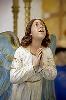 Angel statue, National Shrine of Our Lady of Aparecida, Brazil