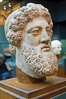 Head of Zeus, Royal Ontario Museum in Toronto, Canada, North America