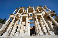 Library of Celsus, ruins of Ephesus. Turkey